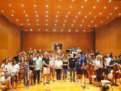 La Joven Orquesta de Canarias, preparada para sus conciertos de verano