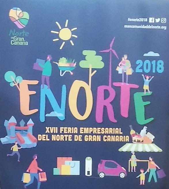Arucas se convierte en el escaparate al aire libre de los más de 100 stands de la Feria Enorte
