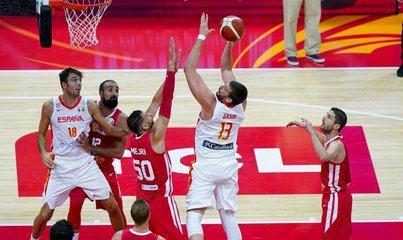 España cumple pronósticos y gana a Túnez en el Mundial de baloncesto