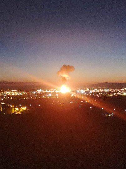 Alarma en Tarragona tras una fuerte explosión en una planta química