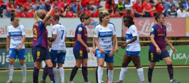 UDG Tenerife Egatesa gana al FC Barcelona y termina la Liga en cuarta plaza