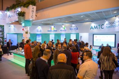 Más de 50 mil personas recibieron el impacto del stand de la AMTC en Fitur