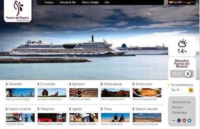 Puerto del Rosario presenta su nueva pagina web de turismo