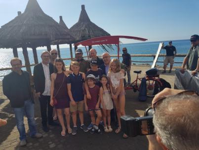La película danesa 'Father of four' contrata a 150 personas en Gran Canaria