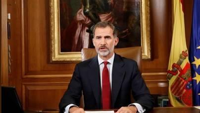 El Rey pide el cumplimiento de la ley y la Constitución en Cataluña