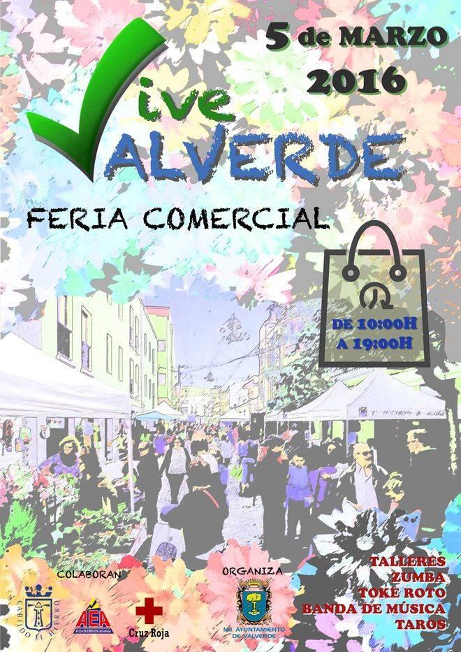 Valverde celebra su segunda 'Feria del Comercio'