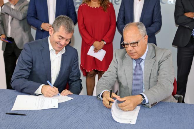 """Curbelo: """"El Plan de Infraestructuras Sociosanitarias garantiza la creación de 200 plazas para dependientes en La Gomera"""""""