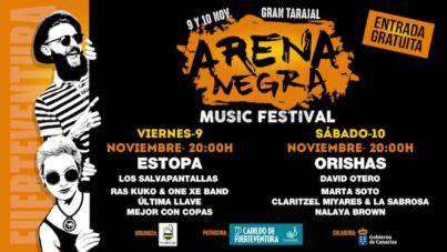 Gran Tarajal recibe el Festival Arena Negra con Orishas y Estopa como cabezas de cartel