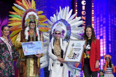 Los Bohemios logran el primer puesto de presentación al mejor disfraz en el Festival Coreográfico del carnaval 2020