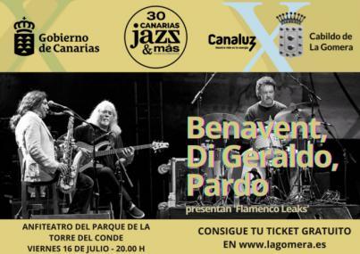 El Festival Internacional Canarias Jazz&Mas llega a La Gomera con 'Flamenco Leaks'