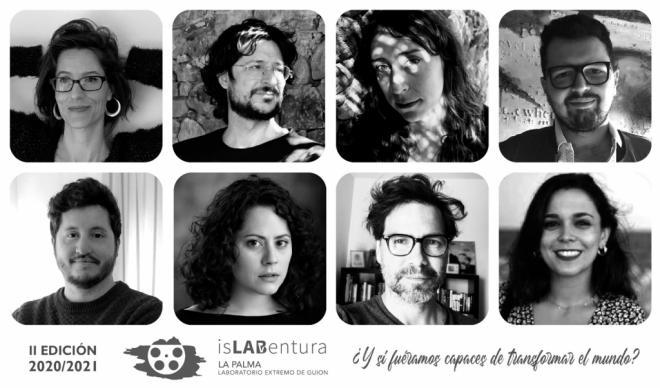 El laboratorio extremo de guion isLABentura selecciona a los ocho finalistas de su segunda edición