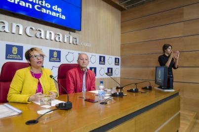 Las personas sordas dispondrán de videoguías signadas en sus visitas al Museo Canario
