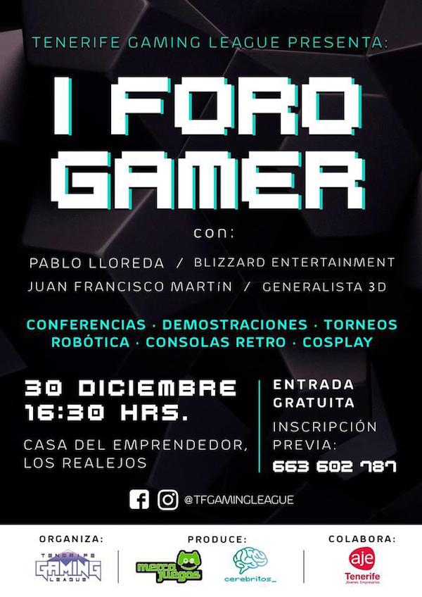 Los Realejos acoge el I Foro Gamer de Canarias