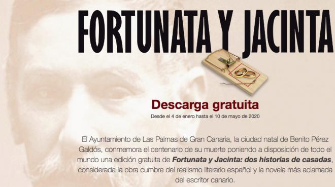 La edición digital de «Fortunata y Jacinta» cuenta ya con 5.000 descargas