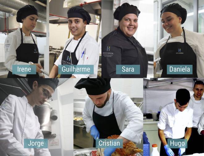 Siete alumnos de Hecansa, seleccionados para el Premio Promesas de la Alta Cocina de Le Cordon Bleu Madrid