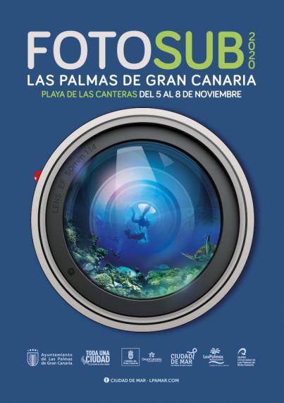 El Fotosub Las Palmas de Gran Canaria confirma su próxima inmersión en la playa de Las Canteras