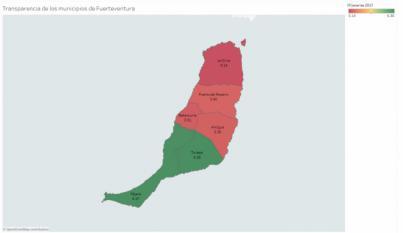 Tuineje y Pájara, únicos municipios majoreros que aprueban en Transparencia en 2017