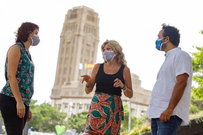 Sí Podemos Canarias denuncia el interés de la patronal hotelera tras la financiación de los test PCR