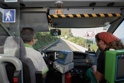 Un total de 431 personas accedieron a Punta de Teno en la nueva línea de Titsa