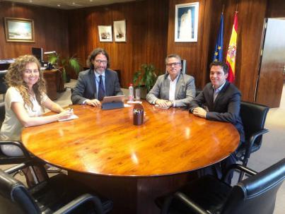 Hamilton & Cia. mantiene una reunión con la Presidenta de Puertos del Estado