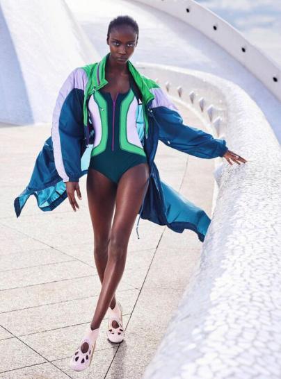 Harper`s Bazaar elige Tenerife como escenario para mostrar diseños de moda