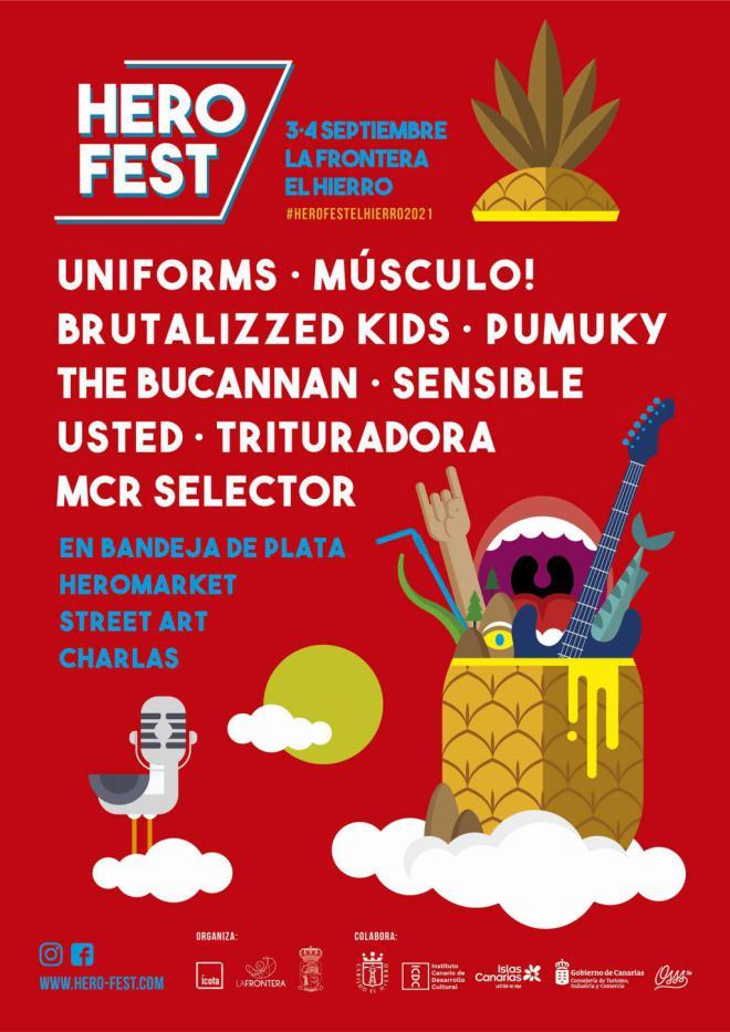 "Festival alternativo de la isla de El Hierro "" Herofest"""