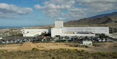 El Hospital del Sur de Tenerife atiende 25.000 urgencias y casi 50.000 consultas hasta mayo
