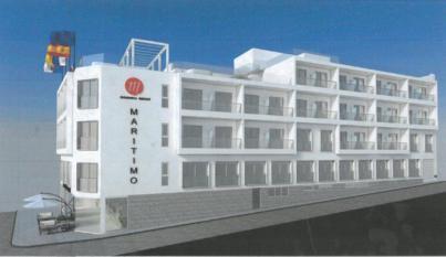 El Hotel Marítimo comienza su reforma y renovación