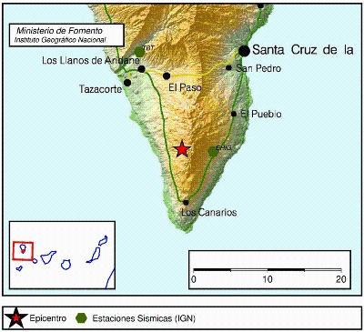 Convocado al Comité Científico para el seguimiento del fenómeno sísmico en La Palma