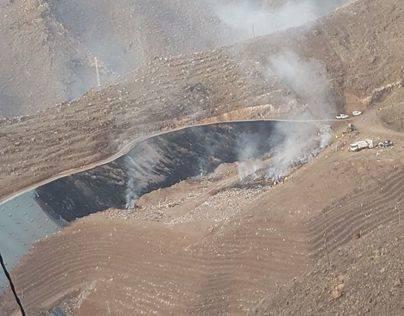 Controlado el incendio declarado en el Complejo Medioambiental de El Revolcadero