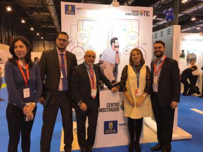 Cinco empresas de Gran Canaria con ideas innovadoras para el turismo se promocionan en Fitur 2018