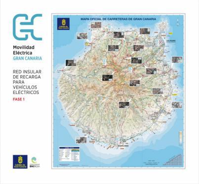 El Cabildo adjudica la gestión de los puntos de recarga para vehículos eléctricos