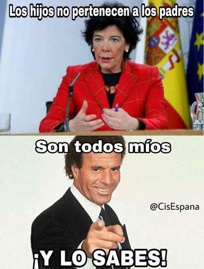 Humor en la Red: Julio Iglesias y su maxi Pin Parental