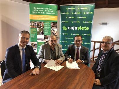 ADER La Palma y Cajasiete firman un nuevo convenio de colaboración financiera