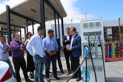 Seis nuevos puntos de recarga de vehículos eléctricos en Fuerteventura
