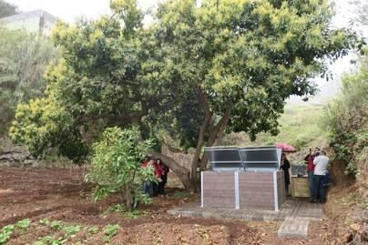 La Palma inaugura el primer punto de compostaje comunitario de Canarias