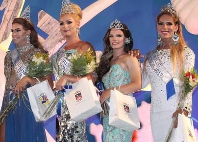 Dayana Luis y Yarelis Vizcaíno se proclaman Miss Gay Turismo Puerto del Carmen