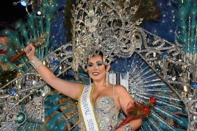 Raquel Galván Pestaille, Reina del Carnaval Internacional del Puerto de la Cruz