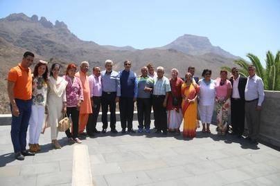 El gobierno de la India donará una estatua de Mahatma Gandhi al Ayuntamiento de Adeje