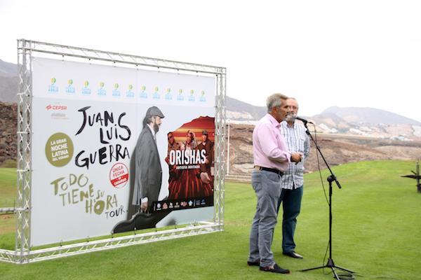 Juan Luis Guerra y Orishas potencian la marca Adeje