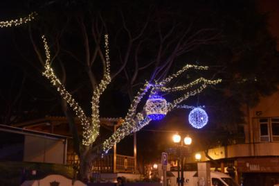 Telde busca dinamizar el comercio y la restauración con la iluminación navideña