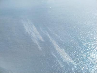 Detectan una mancha de combustible frente a la costa de Las Palmas de Gran Canaria y Telde