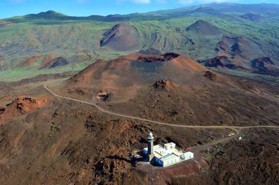 Volcán de Orchilla uno de los cientos de volcanes monogenéticos de El Hierro
