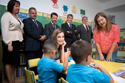 La reina inaugura en Tenerife el curso escolar 2017-2018