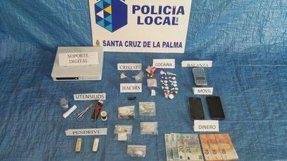 Operación antidroga en una tasca de Santa Cruz de La Palma