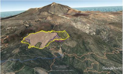 El Cabildo moviliza a un operativo de 120 personas en el incendio forestal de Granadilla