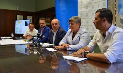 El núcleo turístico de Puerto Naos recibirá las mayores inversiones de su historia