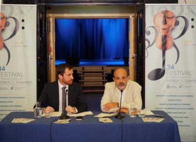 Jorge Perdigón nuevo director artístico del Festival de Música de Canarias