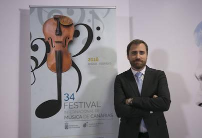 El 34º Festival Internacional de Música de Canarias programa 31 conciertos en todas las islas