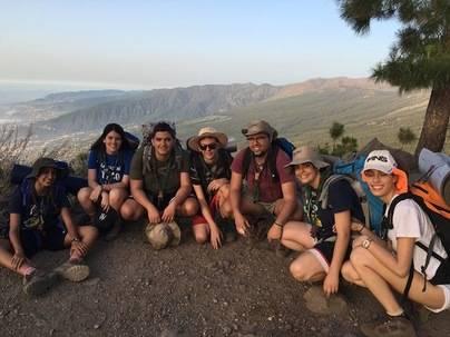 El campamento nacional de Scouts de España cuenta con el apoyo de las instituciones